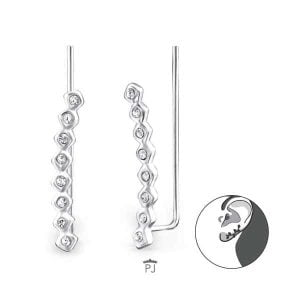 Ear cuff sterling silver