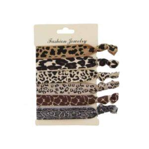Ibiza haarbandjes dierenprints