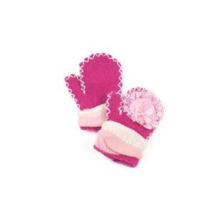 roze kinderhandschoenen
