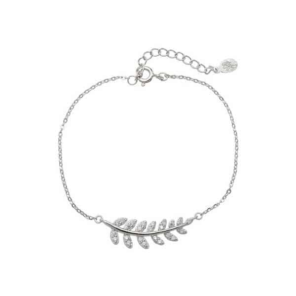 Leaff 925 Sterling Silver armband