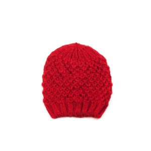 Rode beanie dames winter