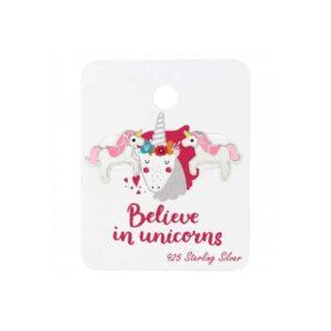 Unicorn oorbellen meisjes